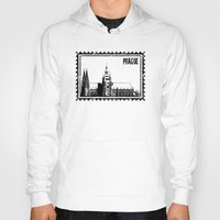 prague Hoodies featuring Prague castle by siloto