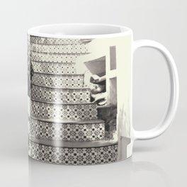 Black and white stairs Coffee Mug