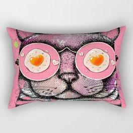 LOVING EGGS.. Rectangular Pillow