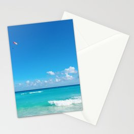 Parasailing in Cancun Stationery Cards