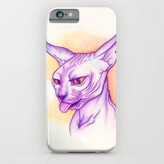 Sphynx cat #02 iPhone 6s Slim Case