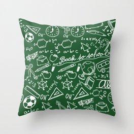 School teacher #8 Throw Pillow