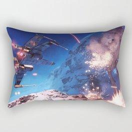 X-Wing vs AT-ST Rectangular Pillow