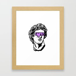 Caesar's Disappointment Framed Art Print