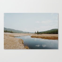 layers of the land ii - yellowstone Canvas Print