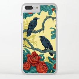 Mystery Garden Clear iPhone Case