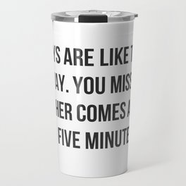 Like The Subway Travel Mug