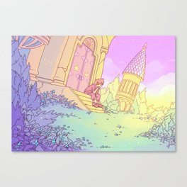 The Mysterious Tower Canvas Print