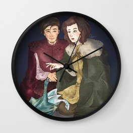 Chase The Devil Wall Clock