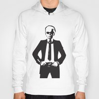 karl lagerfeld Hoodies featuring Karl Lagerfeld by Joanna Theresa Heart