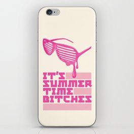 Summer Time. iPhone Skin