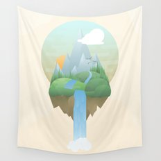 Our Island in the Sky Wall Tapestry