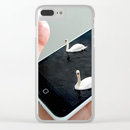 Terrace Guilt Clear iPhone Case