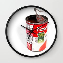 Ode To Warhol Wall Clock