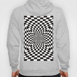 Checkered Optical Illusion Hoody