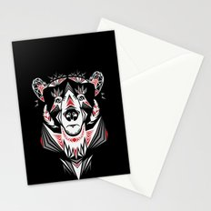 American Indian bear Stationery Cards