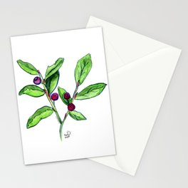 Huckleberries Stationery Cards