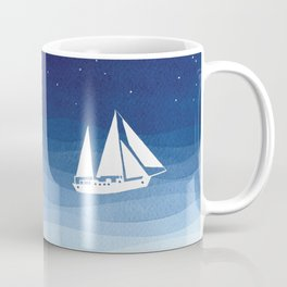 big dipper, sailboat Coffee Mug