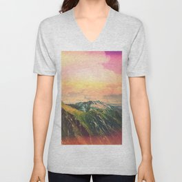 Slumpy Lands Unisex V-Neck