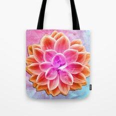 abstract dahlia  Tote Bag