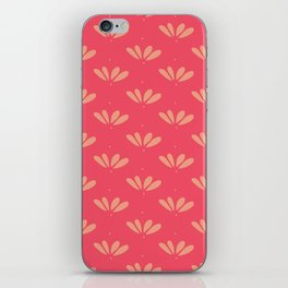 Little Petals Doodle Illustrated Floral Pattern iPhone Skin
