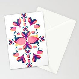 Tulip Pattern Stationery Cards