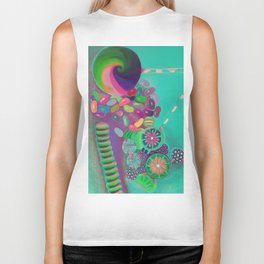 Lollipop & Jelly Beans Biker Tank
