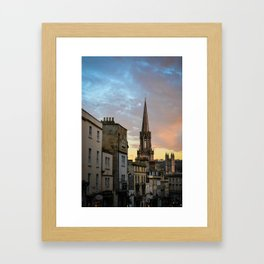 SUNSET IN BATH (PHOTOGRAPHY) Framed Art Print