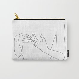 Line Hands 2 Carry-All Pouch