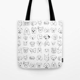 Chiens Et Chat Tote Bag