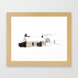 Cottage 2 Framed Art Print