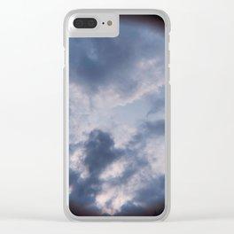 Sneak Peak of Heaven Clear iPhone Case