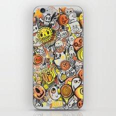 Pencil People iPhone & iPod Skin