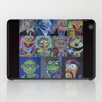 muppets iPad Cases featuring Muppets/ Doctor Who Mash-up by Lissyleem