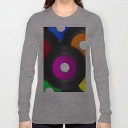 45 RPM Records Long Sleeve T-shirt