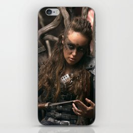 Lexa 02 iPhone Skin