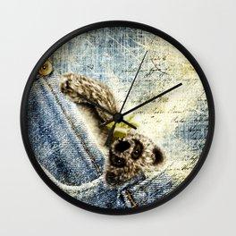 Maskottchen Wall Clock