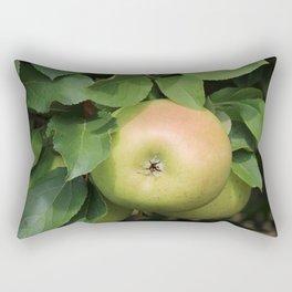 Yellow Apples Rectangular Pillow
