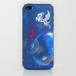Winged Goat of the Cosmos iPhone Skin