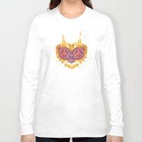 majora Long Sleeve T-shirts featuring Steampunk Majora by Evan Ayres