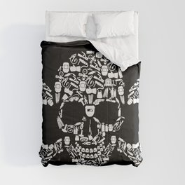 Skull Welder Equipment Comforters