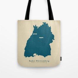 Modern Map - Baden-Wuerttemberg DE new design refreshed Tote Bag