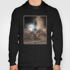 Heavy Duty Earthworks During An Eclipse Hoody