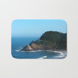 West Coast Lighthouse Bath Mat