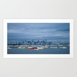 Hobsons Bay Art Print