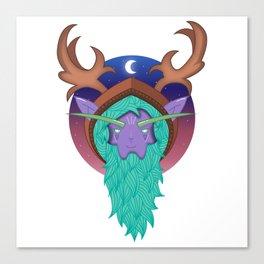 Malfurion The Green Beard | WoW Canvas Print