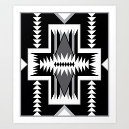Navajo Design Eight B Art Print