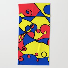 Print #12 Beach Towel