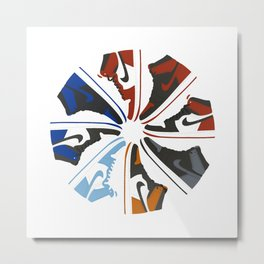 Color Wheel No.001 Metal Print