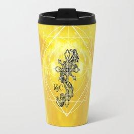 Gothic Cross: Divine Travel Mug